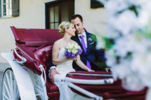 Hochzeitskutsche in Wien